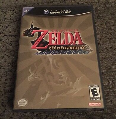 The Legend of Zelda: The Wind Waker GAMECUBE Near Mint!
