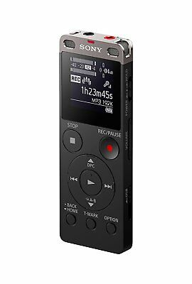 Sony ICDUX560BLK Stereo Digital Voice Recorder with Built-in USB - New