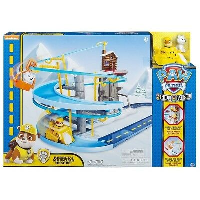 Paw Patrol - Roll Patrol Rubble's Mountain Rescue Track Set