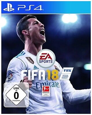 Fifa 18 Ps 4- PS4 - Playstation 4