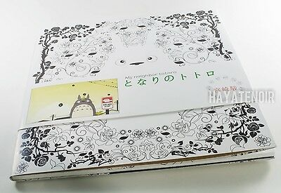 My Neighbor Totoro Kids Anime Coloring Book Cute New US Seller