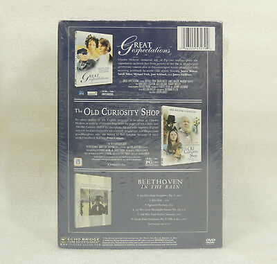 Charles Dickens DVD CD Box Set (3-Disc) Great Expectations Old Curiosity Shop