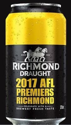 AFL Richmond Tigers 2017 - Limited Edition Carlton Draught Commemorative Can