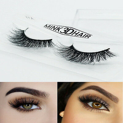 3D Mink False Eyelashes, Layered Wispy  (Lilly/Miami)*Party Lashes-Long Fabulous