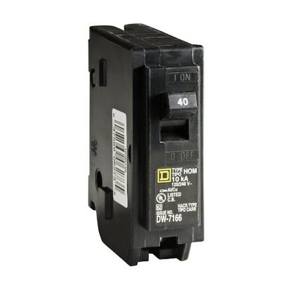 Square D by Schneider Electric HOM140CP Homeline 40 Amp Single-Pole Circuit Brea