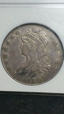 1807 Large Stars 50/20 Capped Bust Half Dollar