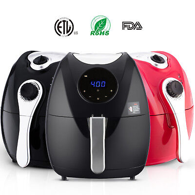 Electric No Oil Air Fryer Multifunction Programmable Timer&Temperature Control