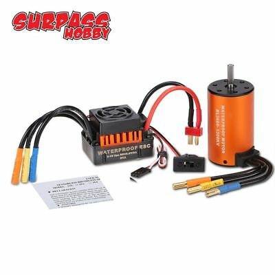 SURPASS 3660 3300KV Brushless Motor +60A ESC Combo für  1:10 RC Car HOT
