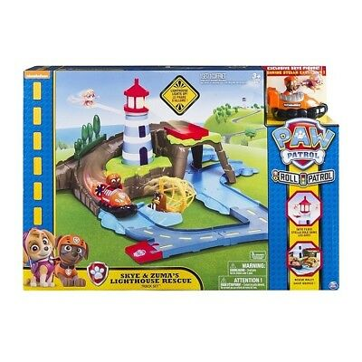 Paw Patrol Roll Patrol Skye and Zuma's Lighthouse Rescue Track Set