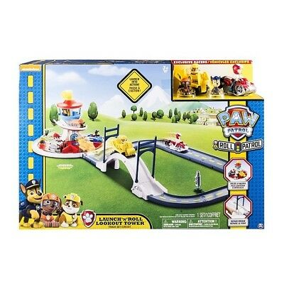 Paw Patrol Roll Patrol Launch N Roll Lookout Tower Track Playset