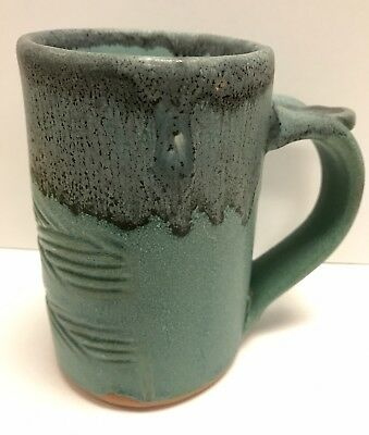 Ceramic Artisan Mug Handcrafted By Local Potter Tea Coffee Cup 01A