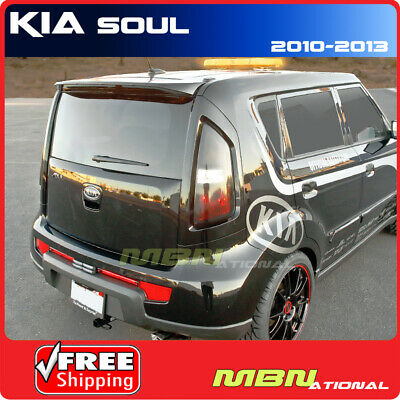 For: 10-13 Kia Soul Rear Roof Trunk Lip Spoiler Color Matched Painted 1E MOLTEN