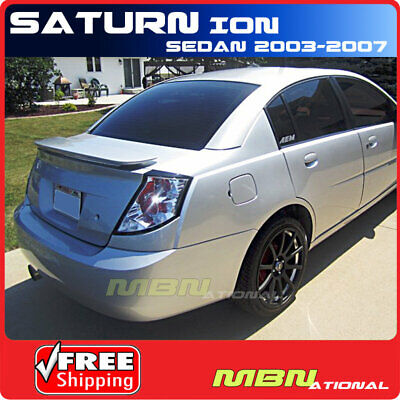 Saturn Vue 02-07 Trunk Rear Spoiler Color Matched Painted BLACK ONYX WA8555