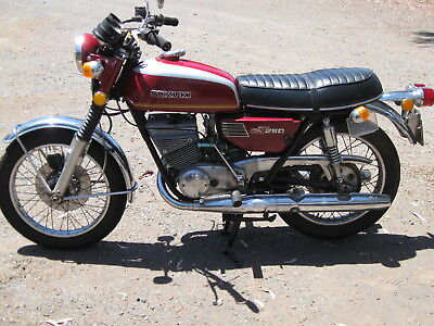 Suzuki Gt 250 Ram Air   1973 Model