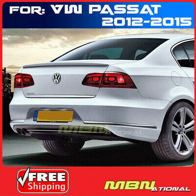 Factory Style Spoiler for the 2012-2019 Volkswagen Passat Painted in the Factory Paint Code of Your Choice #582 L041