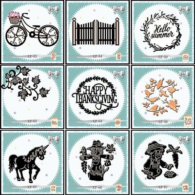 Christmas Metal Cutting Dies Stencil DIY Scrapbooking Photo Album Card Decor