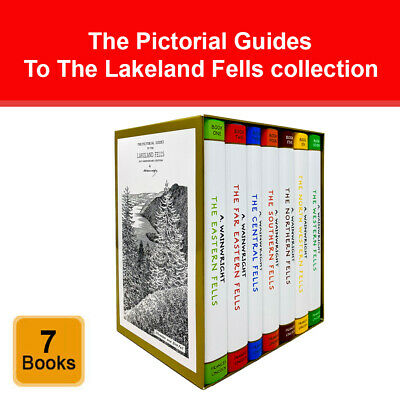 Pictorial Guides to the Lakeland Fells series 7 books collection boxed set pack