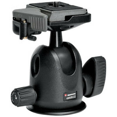 Manfrotto 496RC2 Compact Ball Head with AUST MANFROTTO WARRANTY