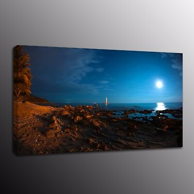 HD Canvas Prints Oil Painting Picture Sunrise scenery Wall Art Home Decor