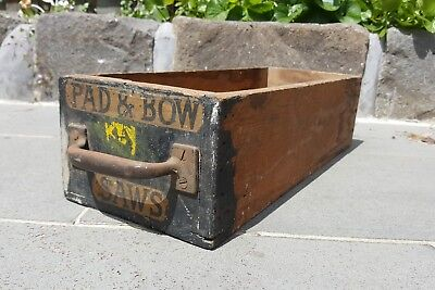 Vintage Wooden Crate Box
