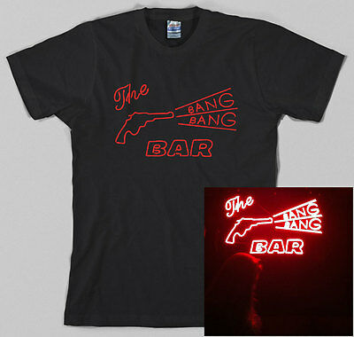Twin Peaks Bang Bang Bar T Shirt, david lynch, tv police, fire walk with me