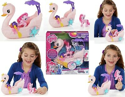 Kids Children Girls My Little Pony Swan Boat Complete Playset Game Toy Xmas Gift
