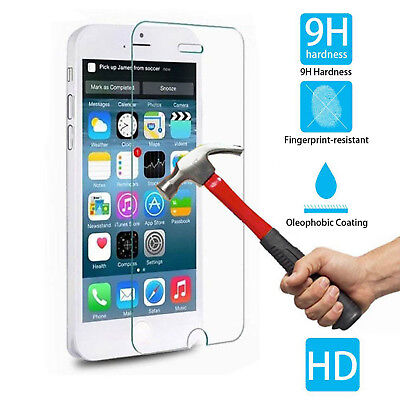 """Tempered Glass Film Screen Protector 4.7"""" For Iphone 6 0.3Mm Hd Clear Genuine"""