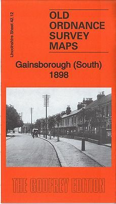 Old Ordnance Survey Map Gainsborough South 1898