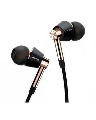 1more E1001 Triple Driver in-ear Headphones Microphone Remote Android IOS Gold