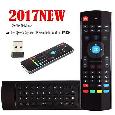 MX3 Wireless Remote Control Keyboard Air Mouse 2.4G For KODI XBMC Android TV Box