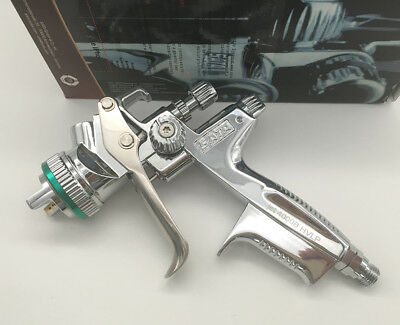 Silver Jet4000 HVLP WITH CUP Paint Spray Gun Gravity 1.3mm  with box