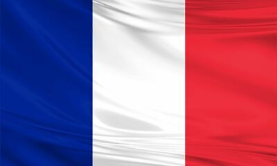 France French Polyester Fabric Large Flag 3ft x 5ft Tricolore World Cup Sport