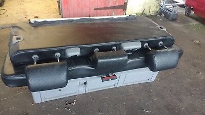 Vw transporter T5 caravelle rear triple bed / seats for rail system