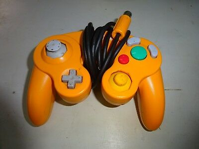 Official Gamecube Controller Spice Orange Original Nintendo OEM Genuine Wii