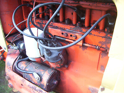 Vintage Ji Case 300  Tractor -# 148 Engine - Will Run - 1956