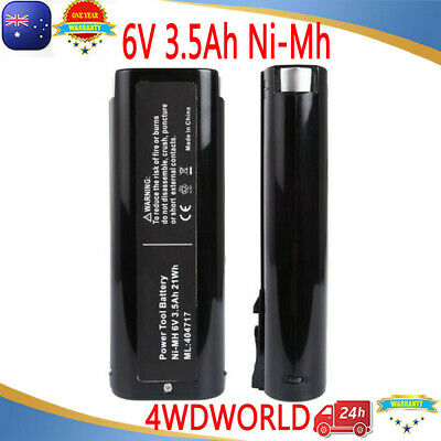 2X 6V 3.5Ah Battery For Paslode Ni-Mh IM50 IM250 900600 902200 900400 404717