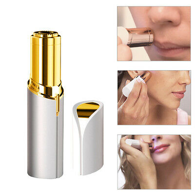 Women Finishing Touch Flawless Lipstick Design Painless Face Facial Hair Remover