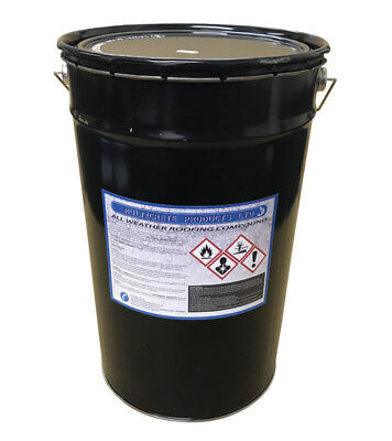 All Weather Roofing Roof Compound Bitumen Waterproof Roof Coating 25L Pro-Chem