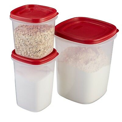 RUBBERMAID EASY FIND Lid Food Storage Container BPA Free Plastic 6