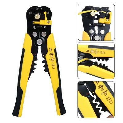 Multifunctional Wire Stripper Self-Adjusting Automatic Terminal Ratchet DIY Tool