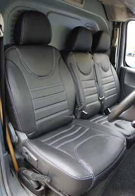 Peugeot Expert Van 2008 to 2011 Fully Tailored Faux Leather Seat Covers