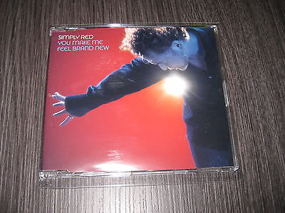 Simply Red Cd Single You Make Me Feel Brand New Promo