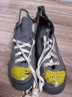 ce2a1b654f70 RARE WW2 VTG 1940s 1950 s Converse Chuck Taylor US ARMY Football  Shoes Sneakers
