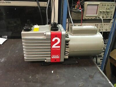 Edwards Model E2M2 Two Stage Rotary Vane Vacuum Pump TESTED