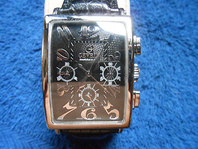gevril avenue of americas ss chronograph ref 51 jewels cheapest on ebay