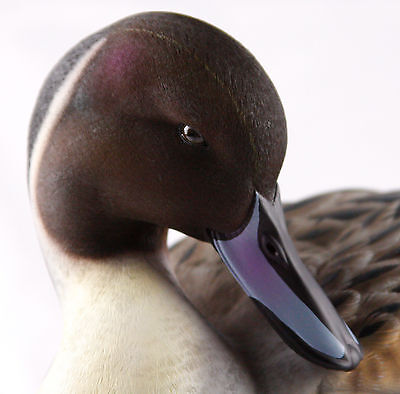 Jett Brunet Preening Pintail, Full Decorative Decoy, Ducks Unlimited 2011