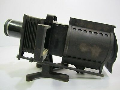 """Antique MAGIC LANTERN or """"Balopticon""""  Slide Projector- Bausch and Lombe- 259X"""