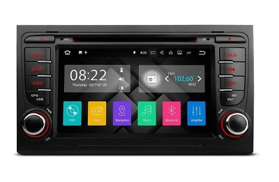 "Radio Dvd Gps Lcd 7"" Tactil Para Audi A4 Seat Exeo Android 7.1 Sd Usb Bluetooth"