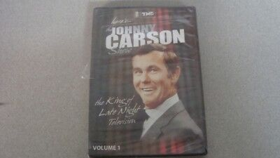 Here's Johnny Carson Show King of Late Night Television Volume 1 DVD New Sealed