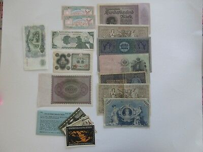 World Currency Collection of 16 notes   (Lot 572)